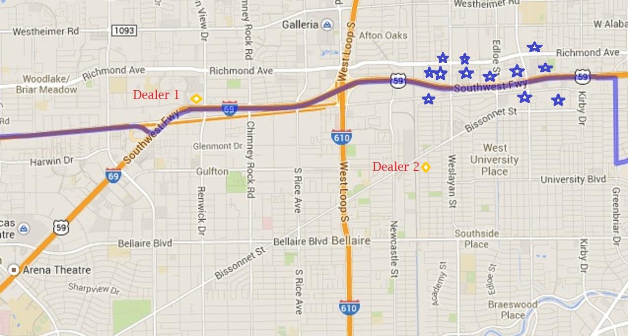 Bigdata customer map